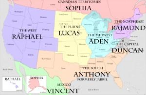 ViA Territory Map