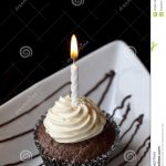 chocolate-cupcake-burning-birthday-candle-40305779