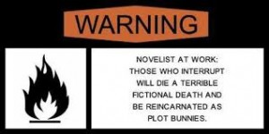 plot bunnies writer at work
